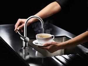 nieuwe kokend water kraan inclusief montage