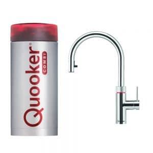 Quooker Flex chroom met combi+ boiler