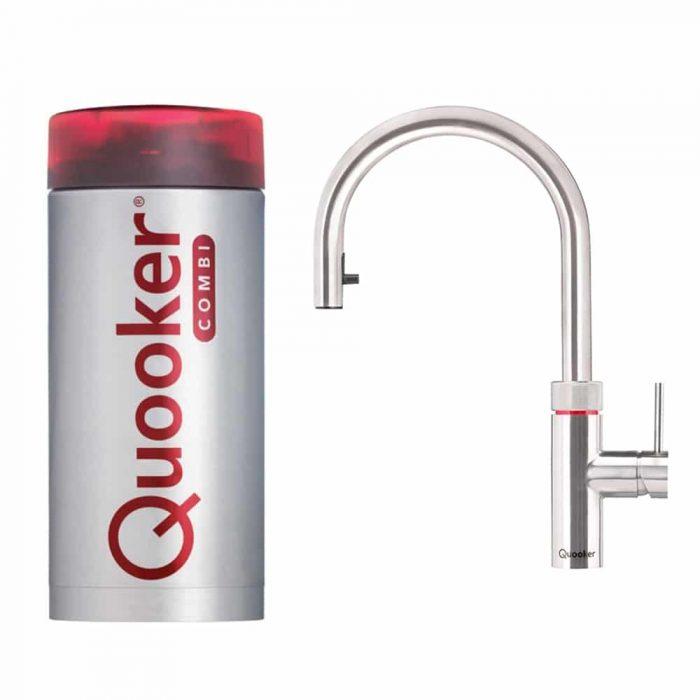 Quooker Flex RVS met combi+ boiler