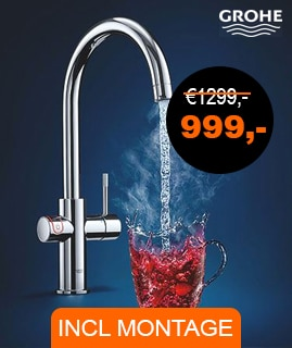 Grohe red inclusief montage