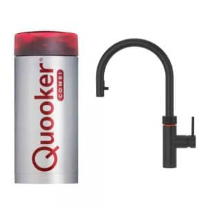 Quooker Flex zwart combi+ reservoir
